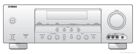 Yamaha Rx V361 Manual Audio Video Receiver Hifi Engine