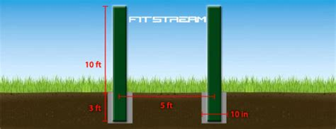 build a backyard pull up bar how to make an outdoor pull up bar and parallel bars diy fitness equipment fitstream