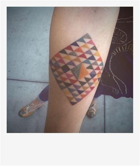 tattoo geometric colour geometric tattoos 73 pics
