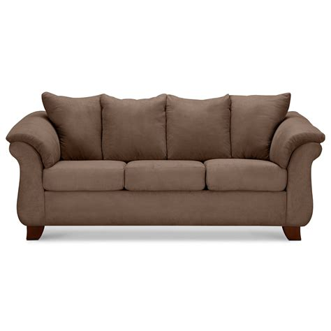 sofa cauch adrian sofa taupe value city furniture