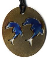 tesla radiation pendant dolphin gold 90 aud including postage to