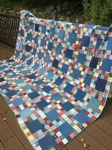 Denim Quilt Ideas by Memory Quilt From Shirts Quilt Ideas