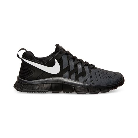mens black sneakers nike mens free trainer 50 sneakers from finish