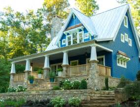 Small Prairie Style House Plans the idea house a craftsman style cottage in georgia