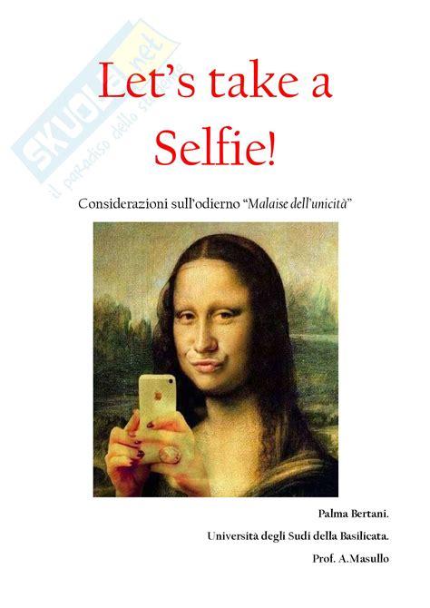 unibas lettere e filosofia let s take a selfie appunti di etica