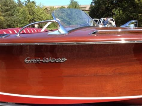 wooden boat on ozark 1947 garwood deluxe runabout 20 lake ozark classifieds