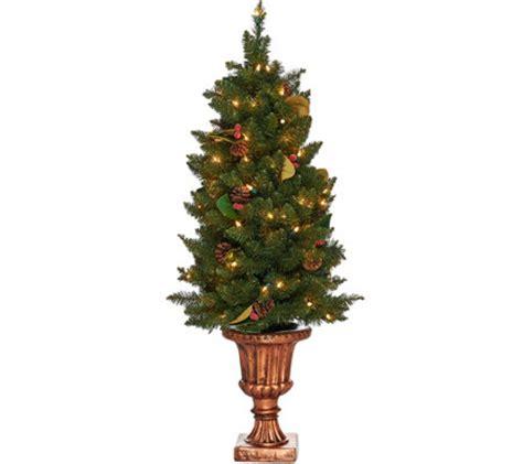 outdoor lit tree bethlehem lights 4 indoor outdoor lit canterbury urn tree
