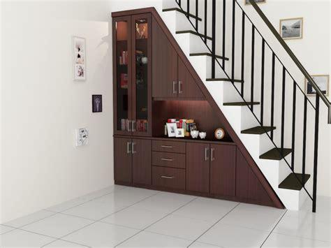 design dapur minimalis dibawah tangga model tangga besi untuk rumah tingkat dan perkiraan biaya