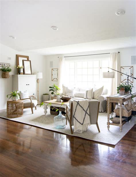 modern farmhouse living room  grace