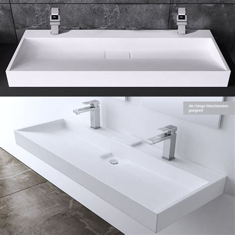 wall mounted marble sink bathroom rectangle square stone wall mounted or countertop