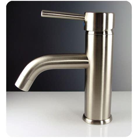 fresca sillaro single mount bathroom vanity faucet
