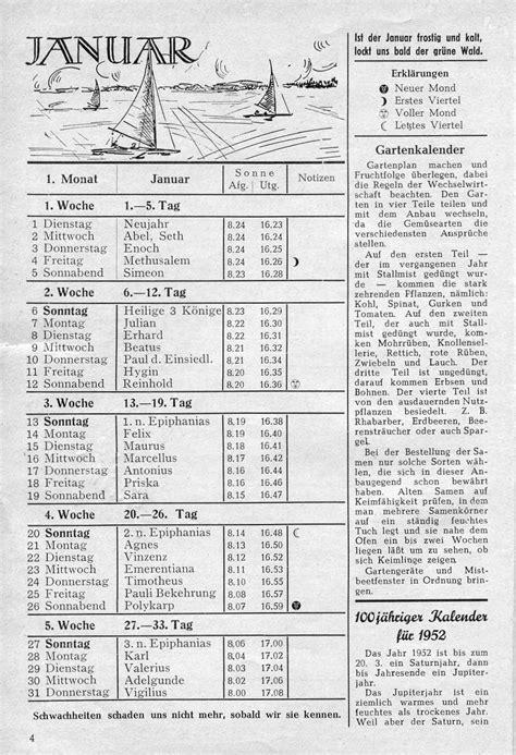 Calendario De 1952 Kalender 1952 Kalender 2017