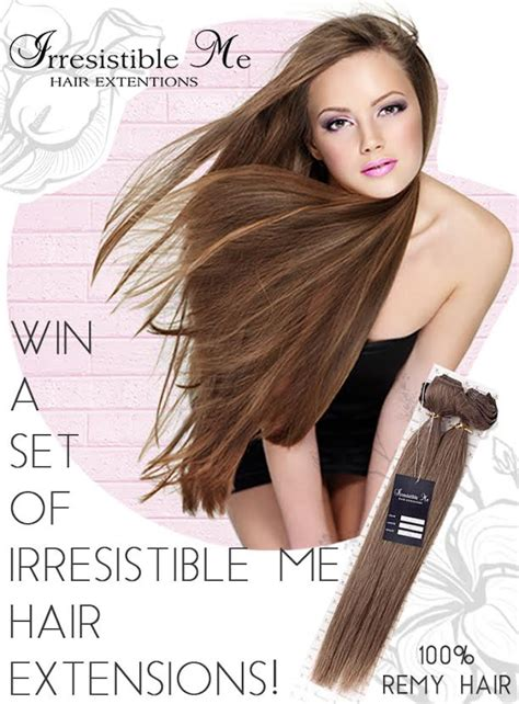 Hair Extensions Giveaway - irresistible me hair extensions giveaway beauty by miss l