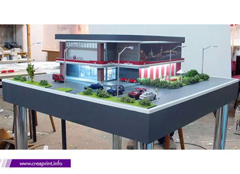 Design House Free Maquette Scale Model Creative Printing House