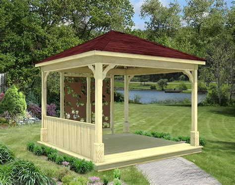 gazebo creations treated pine single roof ramadas ramadas by roof type