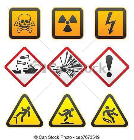 imagenes de simbolos y señales eps vectores de advertencia s 237 mbolos peligro se 241 ales