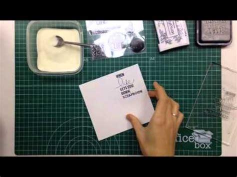 tutorial scrapbook embossing c 243 mo hacer embossing h 250 medo tutorial scrapbook