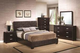 furniture bedroom andreas 202470 bedroom in dark brown by coaster w options