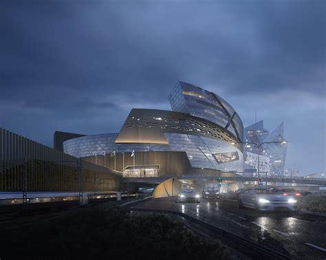 designboom helsinki studio libeskind set to realize tere central deck arena