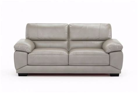cloud leather sectional vixon 3 seater leather sofa cloud absolute home