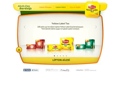 lipton akll ay barda on behance lipton akıllı 199 ay bardağı on behance