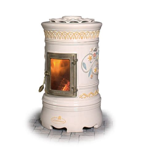 Ceramic Fireplace Heater by Decorative Wood Stove Ceramic Stoves By Castellamonte