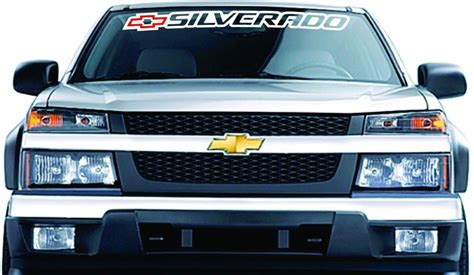 chevrolet windshield decal supdec chevrolet chevy decals stickers