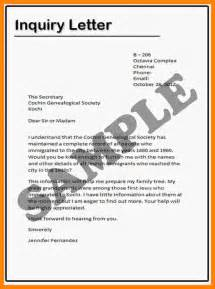 doc 7681024 example inquiry letter example letter of