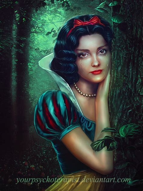 painting snow white snow white by yourpsychotherapist on deviantart