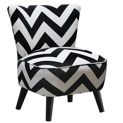 Black And White Accent Chair Black And White Striped Accent Chair Gnewsinfo
