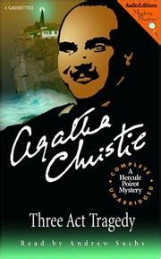 libro three act tragedy poirot three act tragedy november 2004 edition open library
