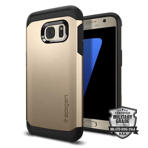 Spigen Tough Armor Samsung Galaxy S7 Chagne Gold Original spigen 174 tough armor 555cs20019 samsung galaxy s7 chagne gold spaceboy