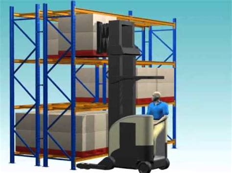 3d storage double deep racking 01 02 double deep selective racking system youtube