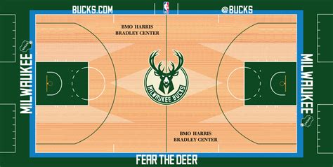 Garden State Radio Schedule Bucks Unveil New Court Design Milwaukee Bucks
