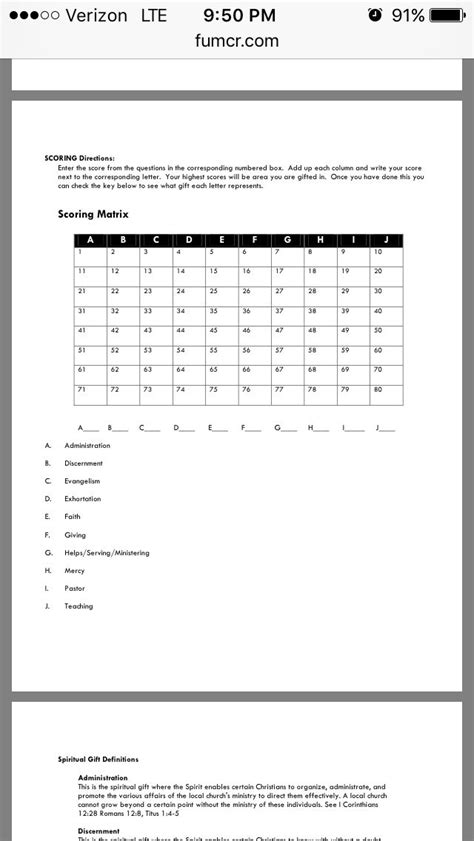 printable spiritual gifts questionnaire printable spiritual gifts test short gift ftempo