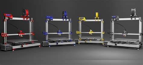 A Frame Kit Home by Gcreate Launches Two New Large Volume 3d Printers The