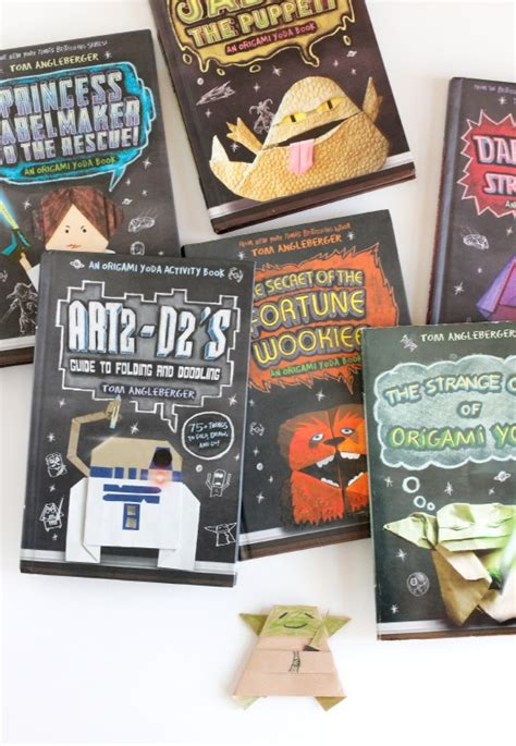 Origami Yoda Book Series - book review the origami yoda series make and takes
