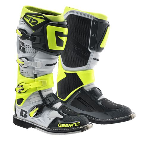 nike motocross boots price gaerne sg 12 white grey yellow fluo motostorm