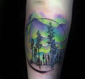 Lights Tattoos by 50 Northern Lights Designs For