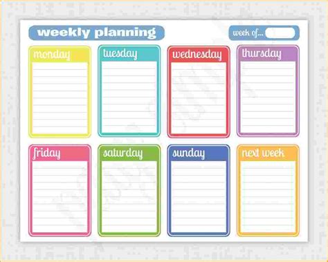 weekly template calendar printable weekly calendar questionnaire template