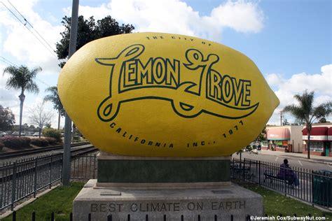 lemon grove depot san diego trolley orange line photos