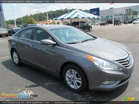 Hyundai Sonata Gls 2013 by 2013 Hyundai Sonata Gls Harbor Gray Metallic Gray Photo