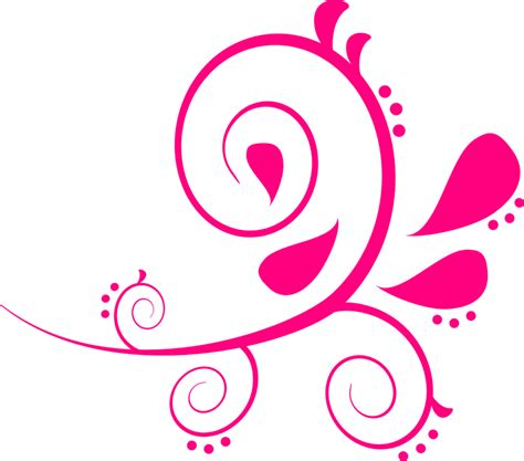 pink pattern background png free vector graphic paisley swirls pink pattern free