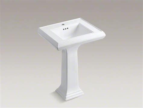 kohler memoirs bathroom sink kohler memoirs r classic 24 quot pedestal bathroom sink with