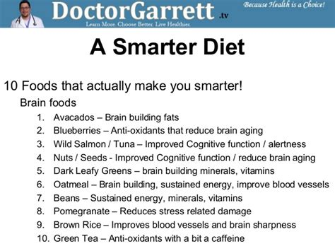 7 Foods To Make You Smarter by Brain Foods That Make You Smarter