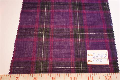 Plaid Patchwork Fabric - madras plaid plaid fabric madras fabric preppy plaid