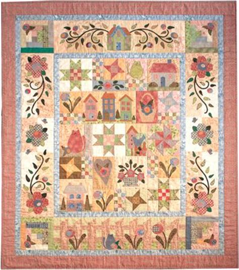 Rosewood Cottage Quilt Pattern by Rosewood Cottage By Nancy Odom Quilt Patterns Layouts