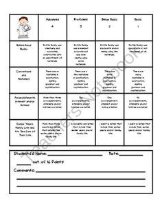 biography bottle rubric a living biography and bottle buddy rubric school