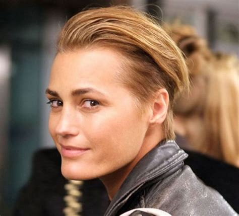 kate nauta with a short haircut slicked back with gel 76 best radical hairstyles images on pinterest grey hair