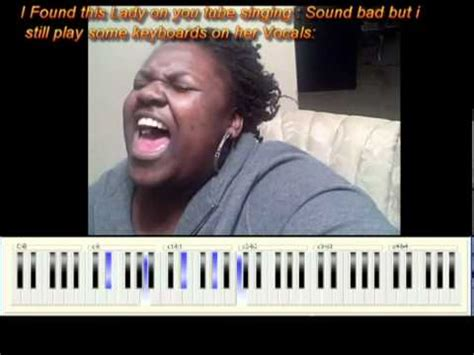 bad church singer found out of tune youtube singer put some gospel keys on
